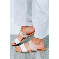 Two Of A Kind Sandals: Multi