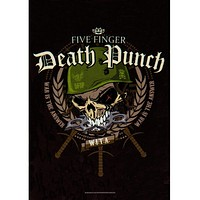 Five Finger Death Punch - Warhead Tapestry