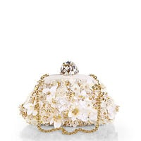 Dolce & Gabbana - Multi Floral Sequined Convertible Clutch