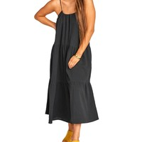 May Crinkle Gauze Maxi Dress
