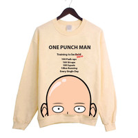 Hero Training Yellow Sweater inspired by popular Japanese Anime/Manga One Punch Man!