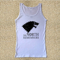 The North Remember for Tank Top Mens and Tank Top Girls