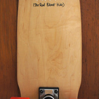 """""""Size Ain't Everything"""" Vintage Skateboard"""