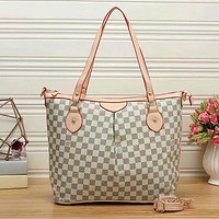 Louis Vuitton Fashion Shopping Handbag Tote Shoulder Bag Satchel