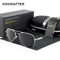 HDCRAFTER aviator sunglasses for men