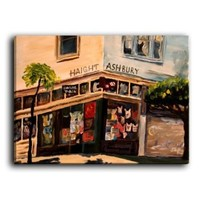 Dianoche Designs Canvas Art FREE SHIPPING - Haight Ashbury San Francisco