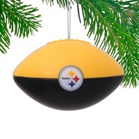 Pittsburgh Steelers Football Team Ball Ornament