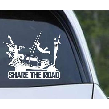 Mad Max Fury Road Share the Road Vinyl Die Cut Decal Sticker
