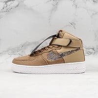 Maharishi x Nike Air Force 1 High Premium khaki Sneaker