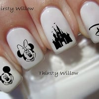 Disney Nail Decals