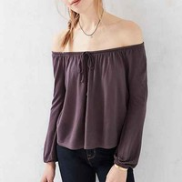 Ecote Cooper Off-The-Shoulder Top
