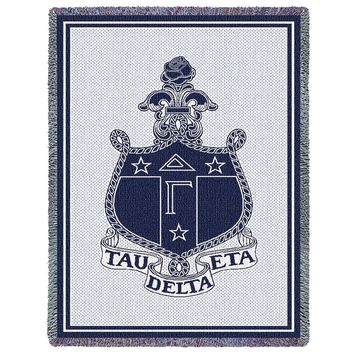 Delta Gamma Throw Blanket