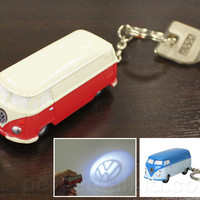 VOLKSWAGEN BUS LED KEY CHAIN