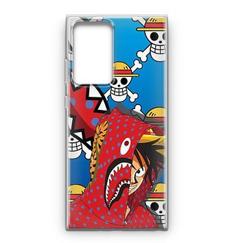 Luffy Bape Samsung Galaxy Note 20 Ultra Case