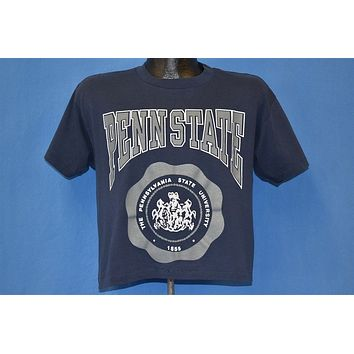 80s Penn State Nittany Lions Half Crop Top t-shirt Large
