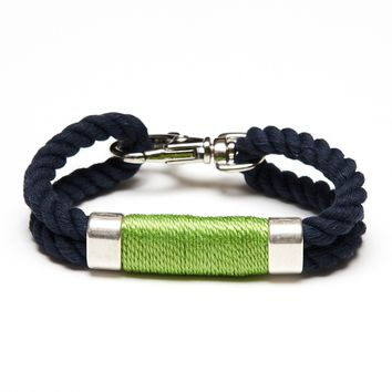 Tremont - Navy/Lime/Silver