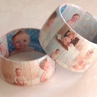 Photo Bracelet for new Mom, Photo Gifts for Mom, Mothers Day Bracelet, Unique Gifts for Mom, Personalized Gifts for Grandma