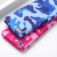 Camouflage Phone Cases For All iphone 360 Case Floral Protective Cover Free Screen Film