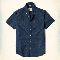 Guys Patterned Poplin Shirt | Guys New Arrivals | HollisterCo.com