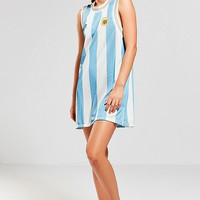 adidas Argentina Soccer Tank Dress | Urban Outfitters