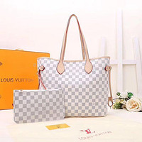 Louis Vuitton LV Hot Two-piece Set Handbags Coin Purses Fashion Ladies Shoulder Bags Two bag