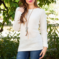 Baijee Knit Top - Ivory
