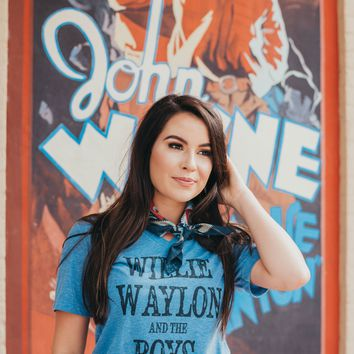 "Gina ""Willie, Waylon & Boys"" Tee"