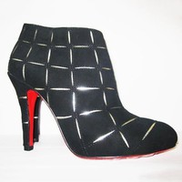Christian Louboutin Women Fashion Casual Heels Shoes Boots-35