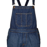 MOTO Vintage Denim Dungarees - Dungarees - Rompers and Jumpsuits - Clothing - Topshop USA