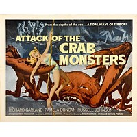 Attack of the Crab Monsters 11x17 Movie Poster (1957)