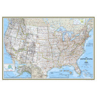 National Geographic Maps United States Classic Wall Map | Wayfair