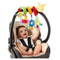 Cute Infant Baby Play Baby Toys Funny Animal Activity Spiral Bed & Toy Stroller Set Hanging Bell Rattle Toys
