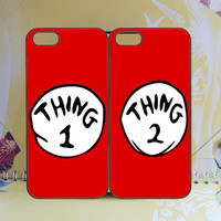iphone 4 case,iphone 5 case,ipod 5 case,iPhone 5s Case,iPhone 5C Case,thing1 and thing 2,samsung s5 case,Samsung S4 Case,any two can match