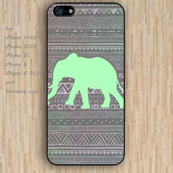 iPhone 5s 6 case Elephant Indian style flowers dream phone case iphone case,ipod case,samsung galaxy case available plastic rubber case waterproof B740