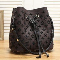 Louis Vuitton Women Fashion Leather Crossbody Satchel
