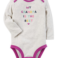 Best Grandpa Collectible Bodysuit