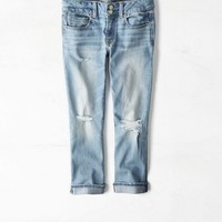 AEO 's Artist Crop Jean (Medium Destroyed)