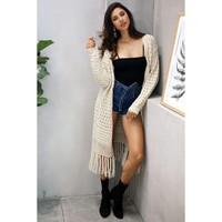 Veronica Long Cardigan