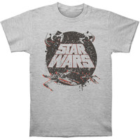 Star Wars Men's  Tradition T-shirt Heather Rockabilia