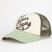 O'neill Born Wild Womens Trucker Hat Olive One Size For Women 25969953101