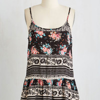 Festival Mid-length Spaghetti Straps In the Zing of Things Top by ModCloth