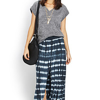 Down to Earth Tie-Dye Maxi Skirt