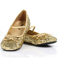 Sparkle Ballerina (Gold) Child Shoes