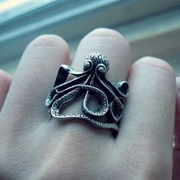 Octopus Vintage Style Ring   LilyFair Jewelry