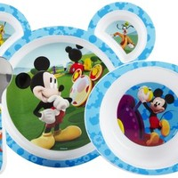 The First Years Feeding Set - Mickey Mouse Clubhouse - 4 ct