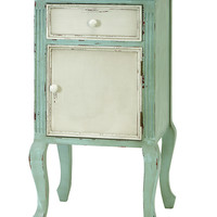 Wood End Table A French Decor