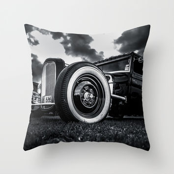FTW Throw Pillow by HappyMelvin