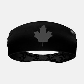 Canada Maple Leaf Black OPS Headband