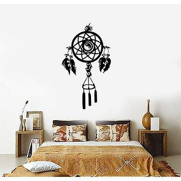 Wall Decal Dreamcatcher Amulet Dream Catcher Protection Vinyl Stickers Unique Gift (ig2262)