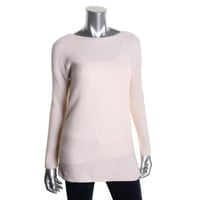 Theory Womens Wool Knit Pullover Sweater